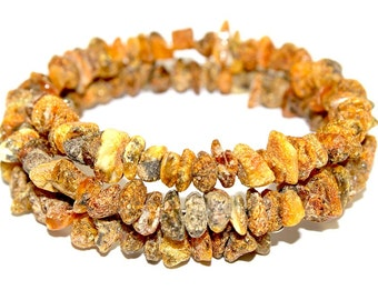 NATURAL BALTIC AMBER Raw Adult Bracelet