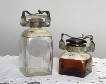 Antique Apothecary Bottles Medicine Bottles Poison Bottles Apothecary Jars Antique Pharmacy Bottle