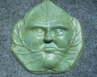 Green Man Garden Stone, Shipping Included