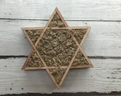 Vertical Star of David Shaped Perfect for Succulents Order by Dec 15th for Christmas Delivery