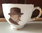 Vintage Winston Churchill Tea Cup
