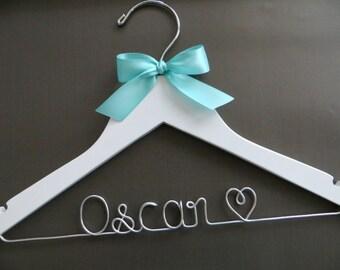 RING BEARER Hanger, Boys Personalized Hanger, Childrens Hanger, Baby Shower Gift, Child Size Hanger, Kids Hanger, New Mom Gift, Name Hanger