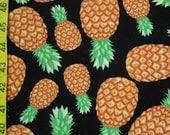 Swimsuit Fabric- Pineapple print  (1 yard )