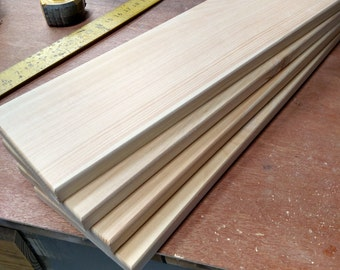"Blank signs 24""x6"" wood planks 4 set"