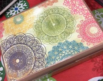 Mandala Stash Box