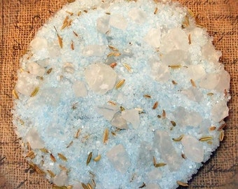 CHINA RAIN Bath Salts  4oz Jar Dead Sea Salt - Spa Type
