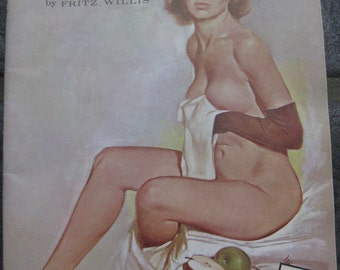 Vintage The Model by Fritz Willis Book