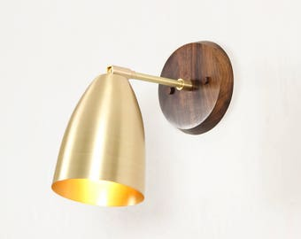 Sconce, Mid Century Moden Lighting, Wall Lamp- Cavern Sconce