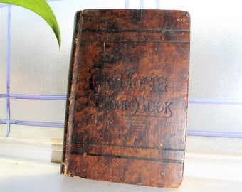 Antique 1893 The Home Cook Book