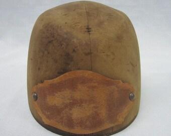Antique Wood Hat Mold