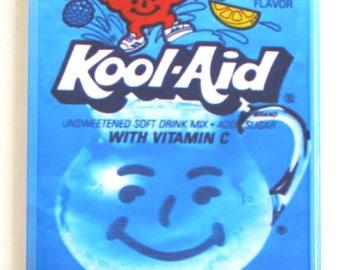 Berry Blue Kool Aid Fridge Magnet
