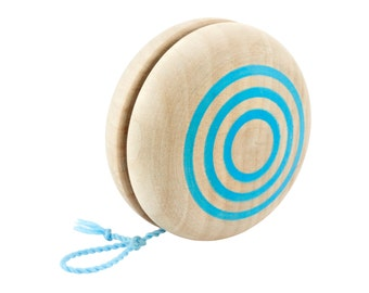 Classic Painted Wooden YoYo (Children's Size String)