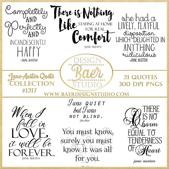 word art clipart jane austen quotes inspirational quotes
