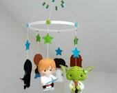 Baby Star Wars hanging mobile / Star Wars Crib mobile / Star Wars Cot hanging mobile / Nursery