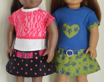 18 Inch Doll Clothes  Classic Dress with Two Piece Look Designed to Fit 18 Inch Dolls such as American Girl® and Our Generation®