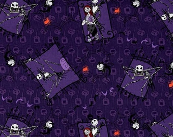 Springs - Nightmare Before Christmas - Couple Purple