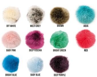 Premium Fake Fur Pom Pom by Rico