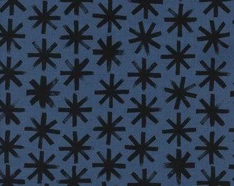 S.S. Bluebird - Plink Plink in Black - Cotton + Steel - 5105-01 - 1/2 yard