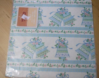 Vintage 70s/80s Wedding Shower Wrapping Paper