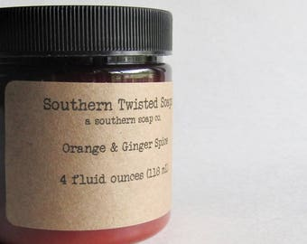 Orange and Ginger Spice Body Lotion