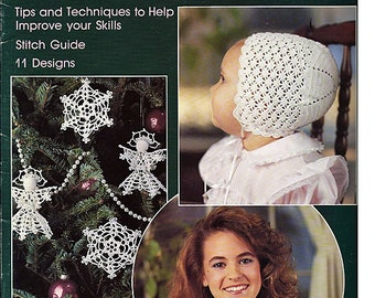 All About Thread Crochet Pattern Book Leisure Arts Leaflet 726