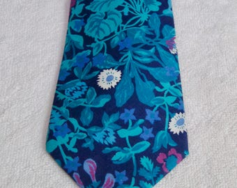 Liberty Of London Cotton Floral Tie