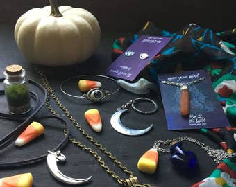 HALLOWEEN EDITION trick or treat festival Grab Bag of Treasures and Jewels