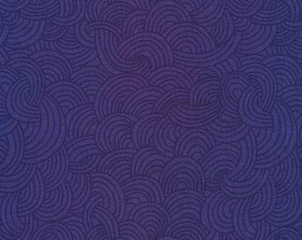 Tidal in Nightfall - Underwater - Elizabeth Olwen - Organic Cotton - Cloud 9 Fabrics - 1 Yard