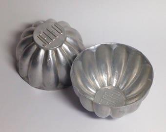 Vintage Jell-O Molds: Set of 2