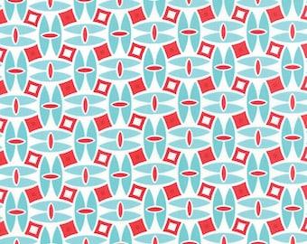Daysail in Aqua by Bonnie and Camille for Moda - One Yard - 55101 12