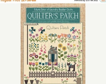 25% Off Sale Quilter's Patch Book by Edyta Sitar of Laundry Basket Quilts - One Book - ISE 914