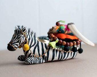 Sacred Animal Sculpture- The Carrier of Inner Beauty: The Zebra