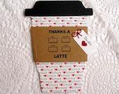 I Love School Teacher Thanks a Latte Gift Card Holder