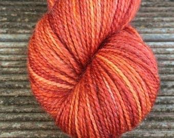 Mister Fox hand dyed sock yarn