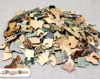 Vintage Puzzle 272 Pieces | Vintage Ephemera | Mixed Media Supply