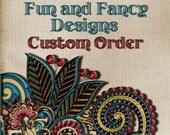 Custom Order for Luvneri