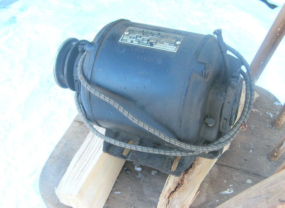Wagner Electric Motor By Steamweaver On Etsy