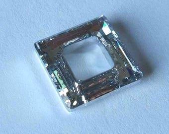 SWAROVSKI 4439 Cosmic Square Crystal Bead 14mm CAL V SI