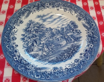 Vintage Currier and Ives Harvest Plate