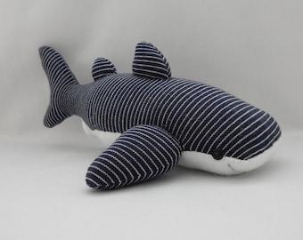 Whale Shark Plush Toy, Shark Plushie, Stuffed Animal, Sock Monkey, Stuffed Toy