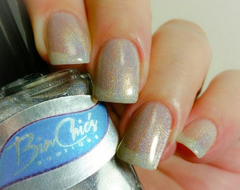 Don't Blink Holographic Nail Polish Topper