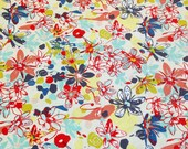 Free Spirit Felicity Miller Botanica Tundra Flower Earthbright Cotton – 1 YARD