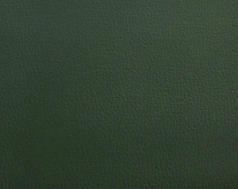 Semi Stretch Vinyl Green 56 Inch Wide Fabric by the Yard - 1 Yard