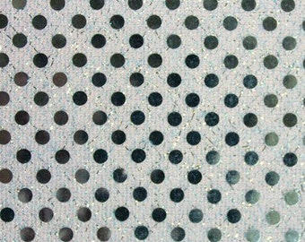 Small Dot Sequin Baby Blue 45 Inch Fabric by the Yard - 1 yard