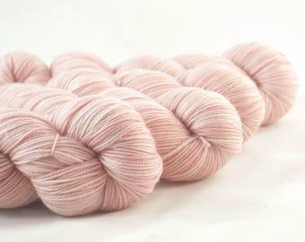 Hand Dyed Aussie Sock Yarn Pink