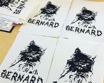 Bernard the Cat Patch