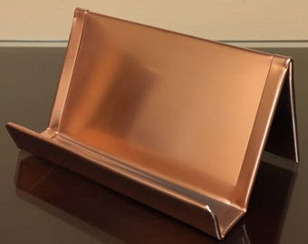 CH00011 Standard Raw Copper Business Card Holder