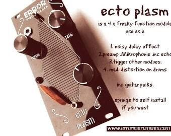 ECTO PLASM  noir   eurorack  delay