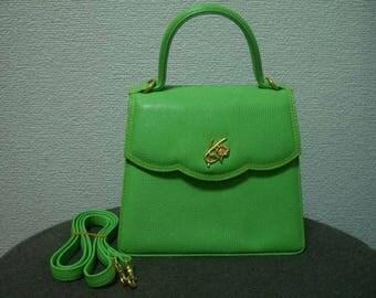 Kenzo greenery bag vtg