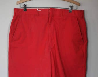vintage brooks brothers men's red shorts W33